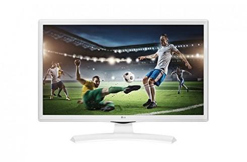 TV LG 24MT49VW-WZ 24″ HD Blanc LED – LED TVs (61 cm (24″), HD, 1366 x 768 pixels, LED, 250 cd/m², 5 ms