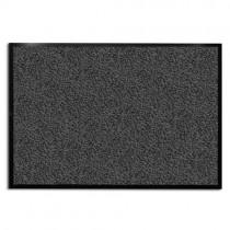Tapis d'entrée casa pura® anthracite-noir | très absorbant + lavable | plusieurs tailles au choix