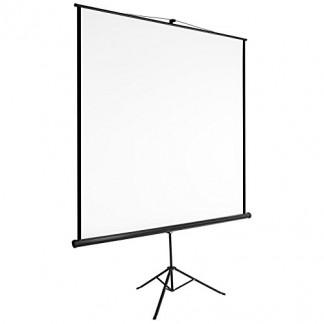 TecTake Écran de projection avec support trépied home cinéma vidéo projecteur 16:9 4:3 HD TV – diverses tailles au choix –