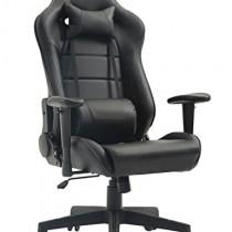 Tiigo Chaise Gamer Fauteuil de Bureau Chaise Ordinateur Hauteur réglable