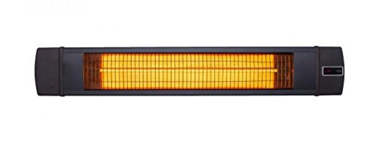 UFO BL30 Black Line 3000W Télécommande, Noir, 121 x 19,5 x 8, 4 cm