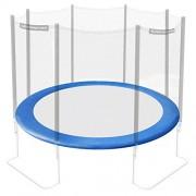 Ultrasport Revêtement pour bords de trampoline de jardin Jumper (modèles ultérieurs à mai 2014), revêtement de ressorts de couleur bleu, rosé et vert, protection des bords pour trampoline de 180 à 430cm de diamètre, accessoire de trampoline pour plus de sécurité