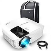 VANKYO Leisure 510 Vidéoprojecteur Rétroprojecteur 3600 Lumens LED Projecteur Soutien HD 1080p ,200 » Affichage, HDMI, AV, VGA et USB