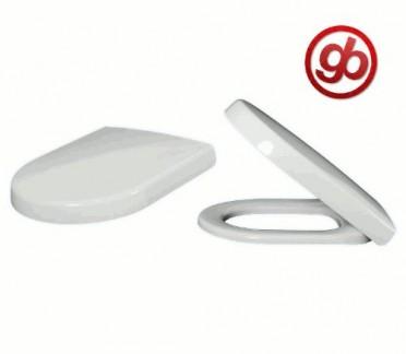 Villeroy & Boch 98M9C101 Abattant WC Omnia architectura à charnières Quick Release et Soft Closing Blanc