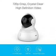 YI Caméra dôme sans Fil Pan/Tilt/Zoom Système de Surveillance de sécurité IP 720p HD Vision de Nuit Service de Cloud Disponibles