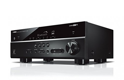 Yamaha Amplificateur Home Cinema RX-V485 145W – Système Bluetooth, Wifi, Airplay, Multiroom