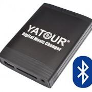 Yatour Adaptateur USB/SD/AUX/MP3 et adaptateur mains libres Bluetooth pour Honda Accord CL/CM/CN/Civic EP/FK/FN/CR-V 01-06/Jazz GD/GE/S2000/NSX à partir de 03/Insight/Stream