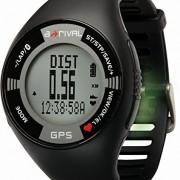 a-rival SpoQ HR GPS d'entraînement, de Course, et cardiofréquencemètre avec Bluetooth