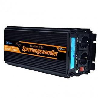 convertisseur pur sinus 12v 220v onduleur 2500 5000w transformateur de tension