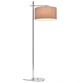 [lux.pro] lampadaire – London – (1 x socle E27)(175 cm x Ø 28 cm) lampe sur pied lampe de plancher lampe lampe de salon