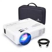 vankyo Leisure 3 Vidéoprojecteur Portable 2400 Lumens Rétroprojecteur LED Mini Projecteur LCD Supporte 1080P Compatible avec Fire TV Stick/PC / Télé pour Cinéma Privé/Jeu Vidéo/FIFA