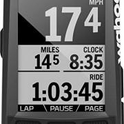 wahoo fitness ELEMNT Bolt GPS Bike Computer Mixte Adulte, Black