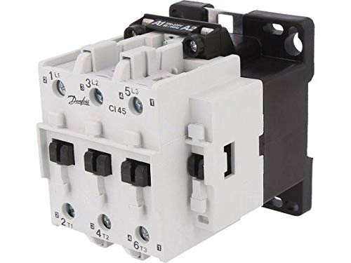 037H007132 Contactor3-pole 230VAC 45A NO x3 DIN, panel CI 45 DANFOSS