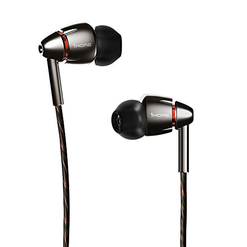 1 More Écouteur Triple Driver Casque Over-Earheadphone (Hi-Res Audio, Pliable, Bandeau en Aluminium) – H1707
