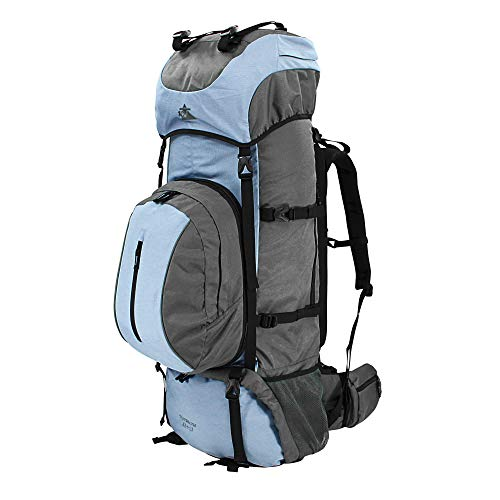 10T Outdoor Equipment Northcote 85+15 Sac Marin, 95 cm, 100 liters, Bleu (Blau/Grau)