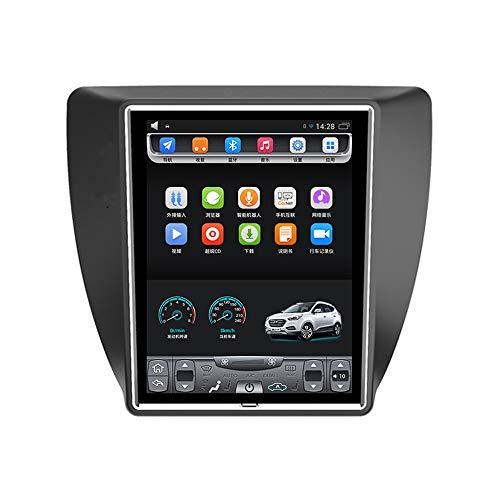 2012-2018 Neuve Sagitar 10,4 Pouces Grand écran Tactile Vertical Voiture Android GPS Navigation multimédia vidéo Radio Joueur Bluetooth WiFi