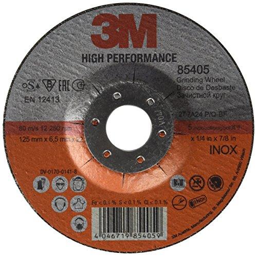3M ™ High Performance Disque à ébarber Inox, 22,23mm, Type 27, 10pièces/carton