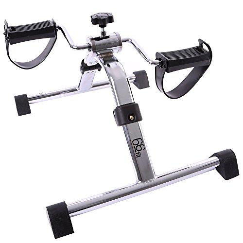 66Fit Appareil d'exercice avec pédales repliables pour les bras et les jambes