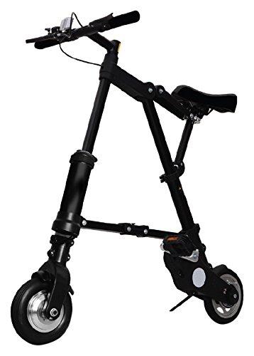 A de Bike Vélo Pliant Electric, Black, M