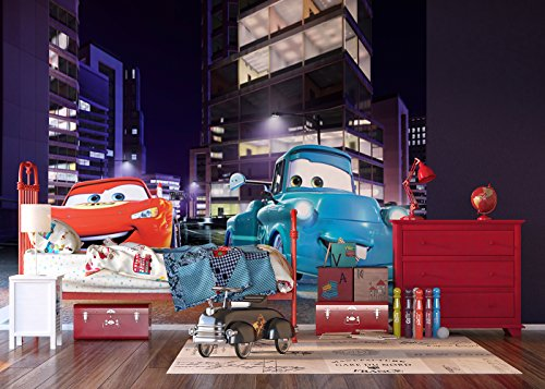 AG fTDxxl 0245 Photo intissé Motif Palmiers photomurals Mural-Disney Cars