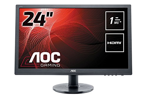 AOC E2460SH Ecran PC LED 24 « (61 cm) 1920 x 1080 1 ms VGA/DVI/HDMI