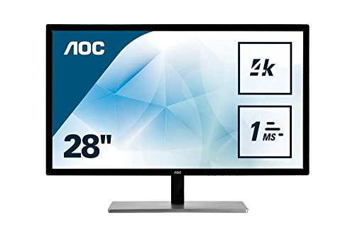 AOC U2879VF Ecran PC LED 28″ 3840 x 2160 1 ms HDMI/VGA/DVI/D-SUB/DisplayPort