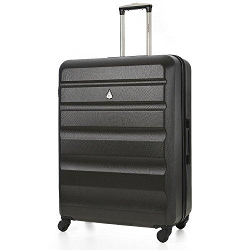 Aerolite ABS Bagage de soute Valise Rigide Léger 4 roulettes Grand 79cm