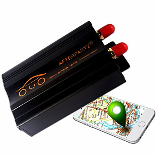Afterpartz ovo-103 a – Traceur GPS professionnelle, pour voiture, moto, antivol, de surveillance, GSM, GPRS, Google, Tracker, envía Message de texte, avec application mobile