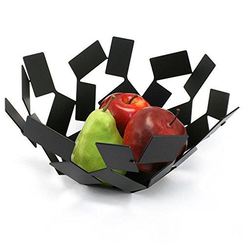 Alessi A di Stanza Dello Corbeille à fruits en acier inoxydable 18/10