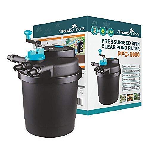 All Pond Solutions koï sous pression filtre de bassin / stérilisateur UV pour PFC-50000 litre …