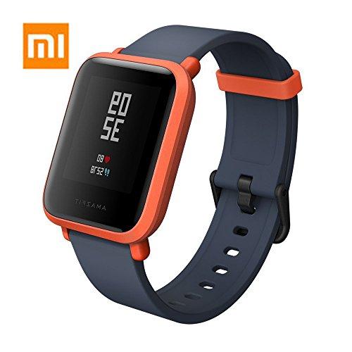 Amazfit Bip Xiaomi Smartwatch Montre Connectée Bracelet GPS de Running Tracker d'activité Cardio Version Internationale