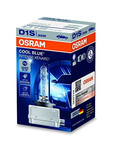 Ampoule Xénon OSRAM XENARC COOL BLUE INTENSE D1S HID Lampe à décharge, 66140CBI, boîte pliante (1 pièce)