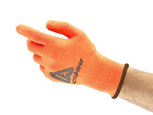 Ansell ActivArmr 97-013 Gants pour usages multiples, protection mécanique, Orange