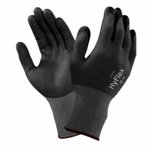 Ansell HyFlex 11-840 Gants pour usages multiples, protection mécanique, Noir