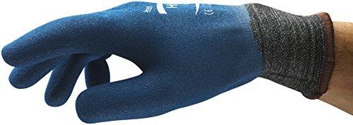 Ansell HyFlex 11-949 Gants oléofuges, protection mécanique, Bleu