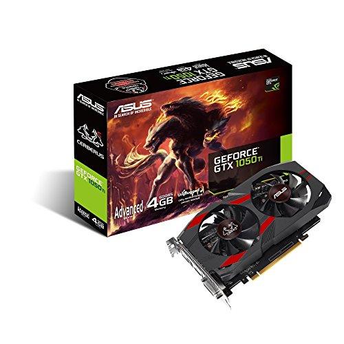 Asus CERBERUS-GTX1050TI-A4G Carte Graphique Nvidia 4 Go PCI Express 3.0 x16