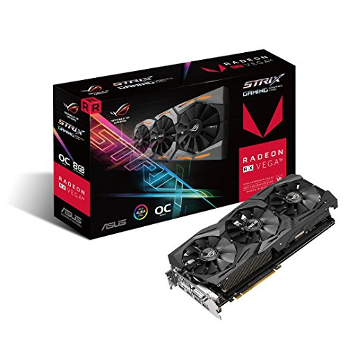 Asus ROG-STRIX-RXVEGA56-O-8G-GAMING Carte Graphique AMD 8 Go PCI Express 3.0 x16