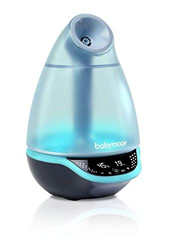 Babymoov Hygro Plus Humidicateur Ultrasonic Silencieux Grande Capacité avec Diffuseur Huiles Essentielles