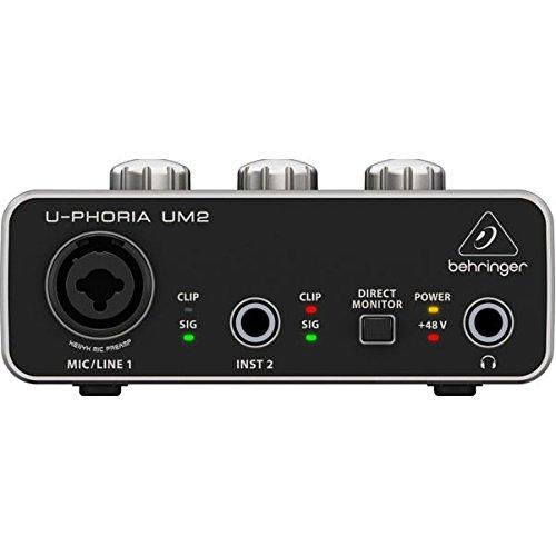 Behringer U-PHORIA UM2 Interface audio USB 2.02x 2