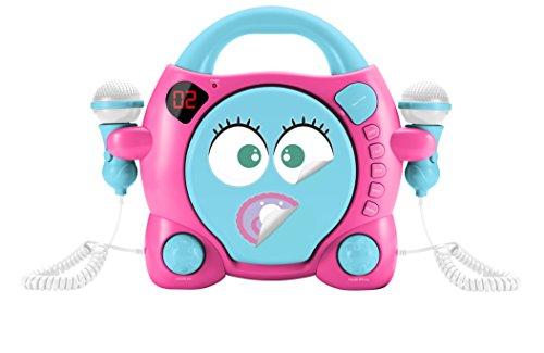 BigBen Interactive My ma Portable CD Player Blue, Pink–CD Players (LED, Digital, 3.5mm, lr014, 332mm, 262mm)