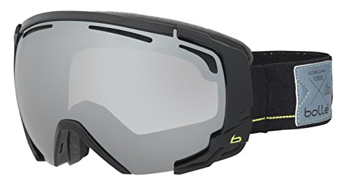 Bollé Sun Protection Supreme OTG  Outdoor Skiing Goggle available in Shiny Noir/Rouge – Medium/Large