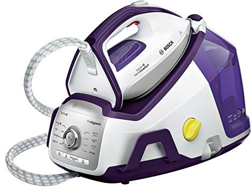 Bosch TDS8080 Centrale Vapeur illimitée, 2400 W, Blanc/Violet Foncé