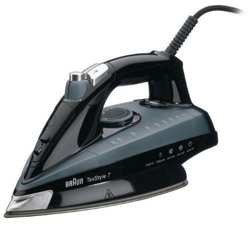 Braun TS745A Fer à Repasser Plastique Noir/Gris 28 x 11 x 13 cm 2400 W