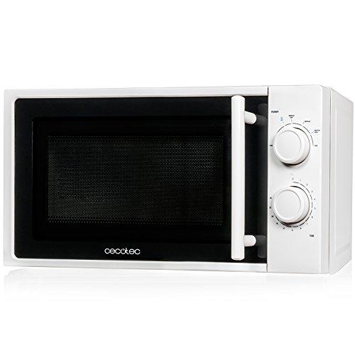 Cecotec Micro-onde Blanc input 1200W output 700W 20l 6niveaux