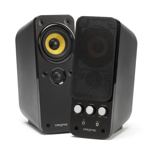 Creative GigaWorks T20 Series II – Enceintes Multimédia PC 14 watts RMS par Canal (2 canaux)