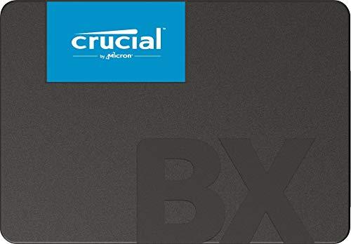 Crucial CT480BX500SSD1 SSD Interne BX500 (480Go, 3D NAND, SATA, 2,5 Pouces)