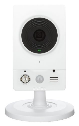 D-Link Caméra IP mydlink Wireless N vision de jour et de nuit – Diodes infrarouges intégrées – Détection de mouvement- Surveillance intérieure jour & nuit(DCS-2132L)