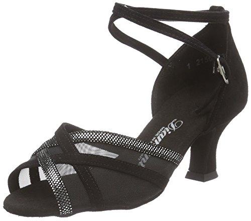 Diamant Damen Latein Tanzschuhe 035-064-139, Chaussures de Danse de Salon Femme