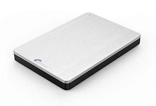 Disque dur externe portable USB 3.0 noir Sonnics, à vitesse de transfert super rapide, pour une utilisation avec PC Windows, Apple Mac, Smart TV, Xbox One et Android TV Box FAT32