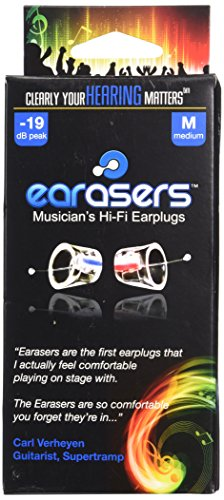 Earasers HEM001 Protections auditives pour musicien